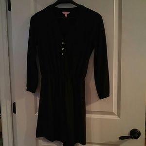 Lilly Pulitzer Black Beckett Dress Size M